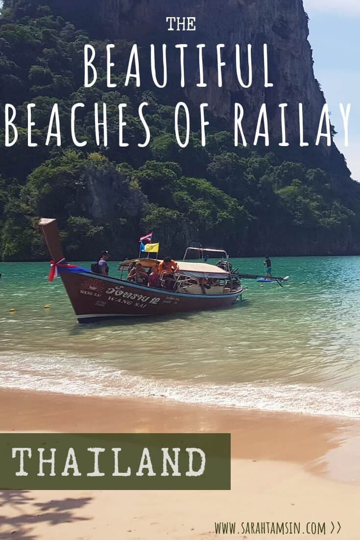 Beautiful Beaches of Railay Thailand